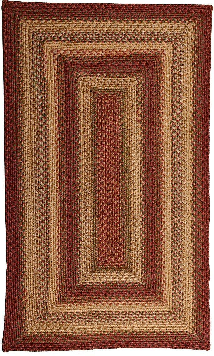 homespice decor barcelona braided area rug collection