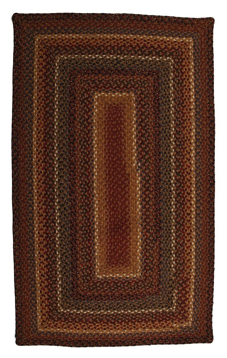 homespice decor biscotti braided area rug collection
