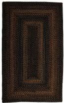 Homespice Decor Braided Black Forest Area Rug Collection