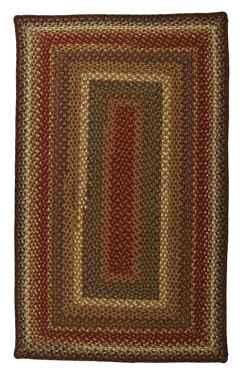 homespice decor bosky braided area rug collection