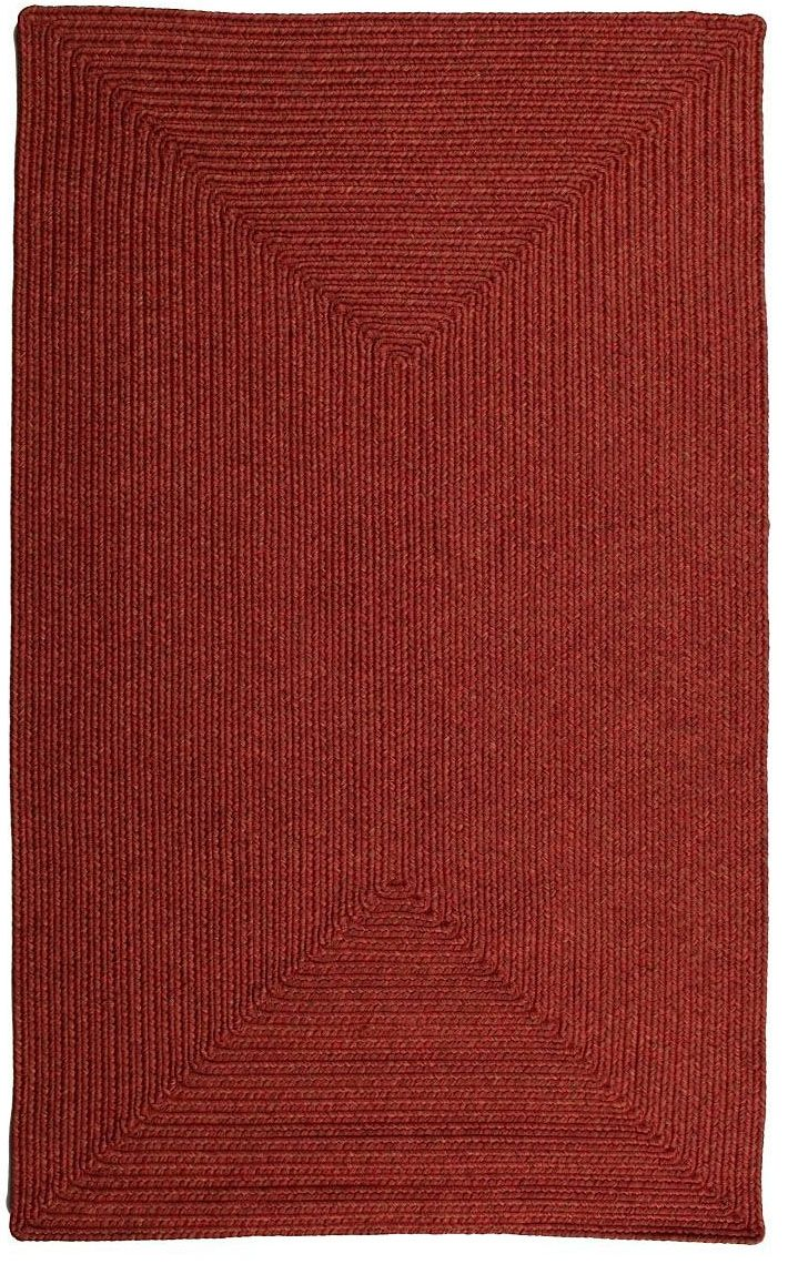 homespice decor brick braided area rug collection