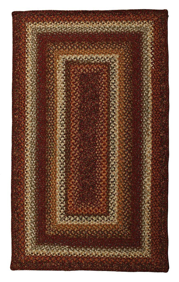 homespice decor cambria braided area rug collection
