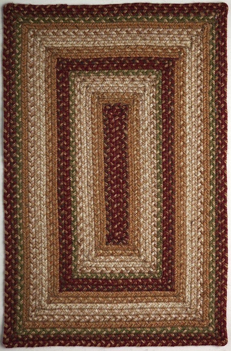 homespice decor candy braided area rug collection