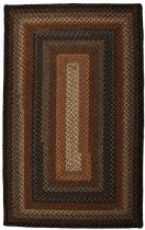 Homespice Decor Braided Cocoa Bean Area Rug Collection