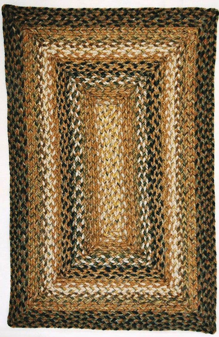homespice decor coffee braided area rug collection