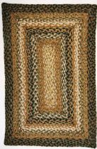 Homespice Decor Braided Coffee Area Rug Collection