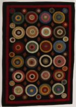 Homespice Decor Contemporary Coin Rug Area Rug Collection