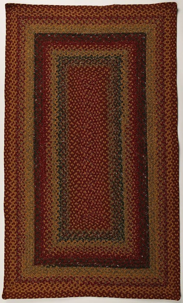 homespice decor four in nine patch braided area rug collection