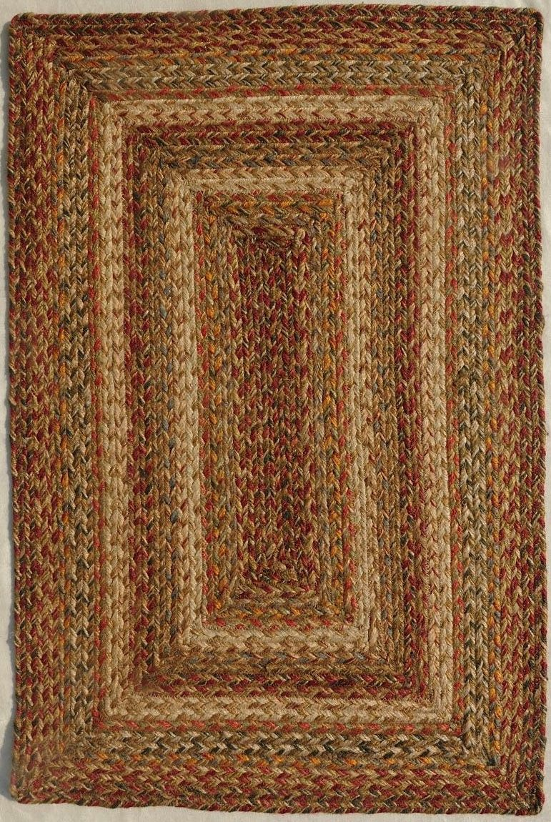 homespice decor harvest braided area rug collection