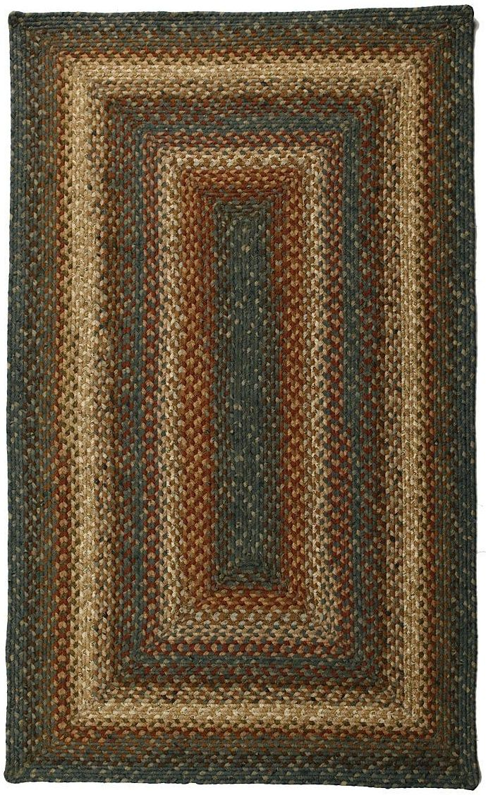 homespice decor hemlock braided area rug collection