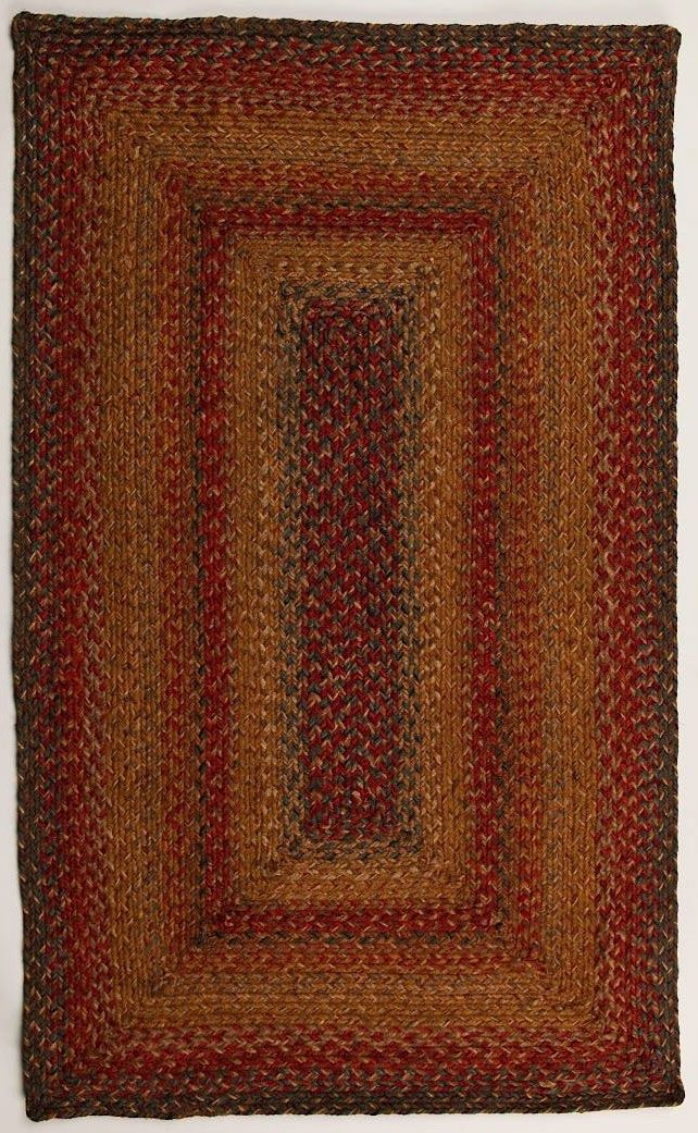 homespice decor manchester braided area rug collection