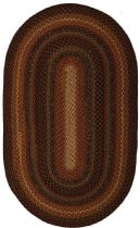 Homespice Decor Braided Peppercorn Area Rug Collection