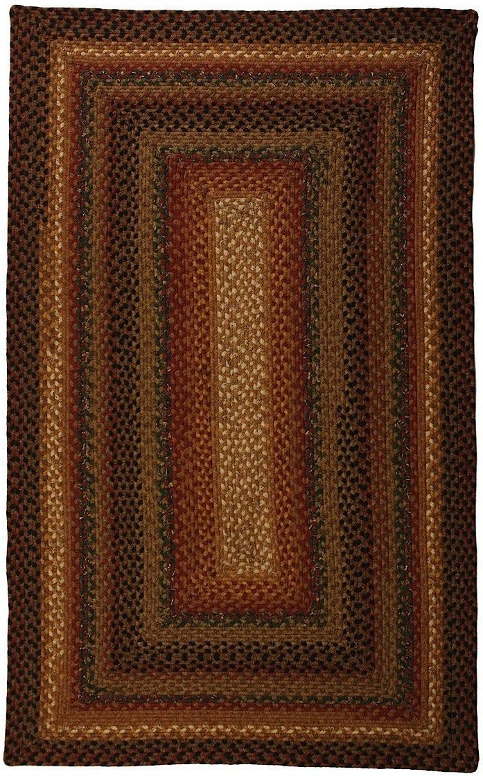 homespice decor peppercorn braided area rug collection
