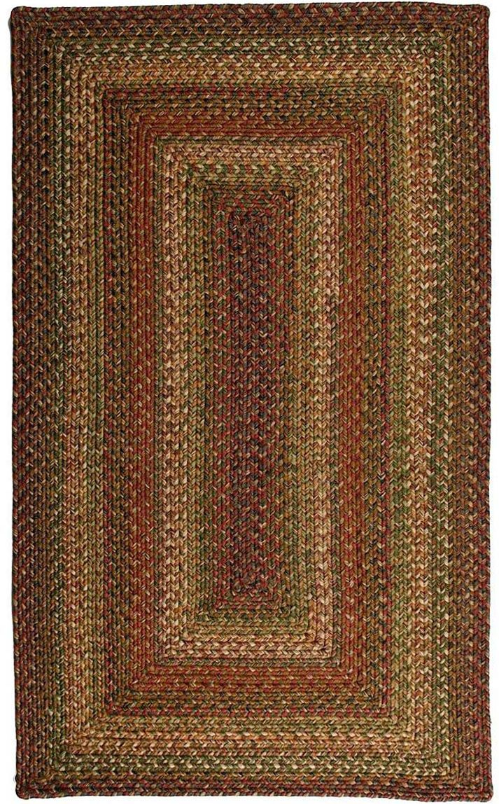 homespice decor rainforest braided area rug collection