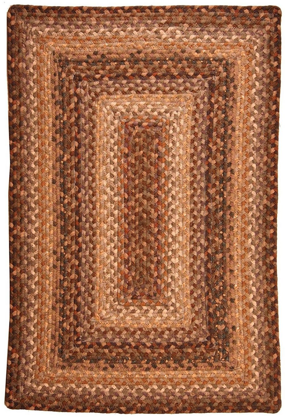 homespice decor sandalwood braided area rug collection
