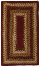 Homespice Decor Braided Santa Fe Sunrise Area Rug Collection