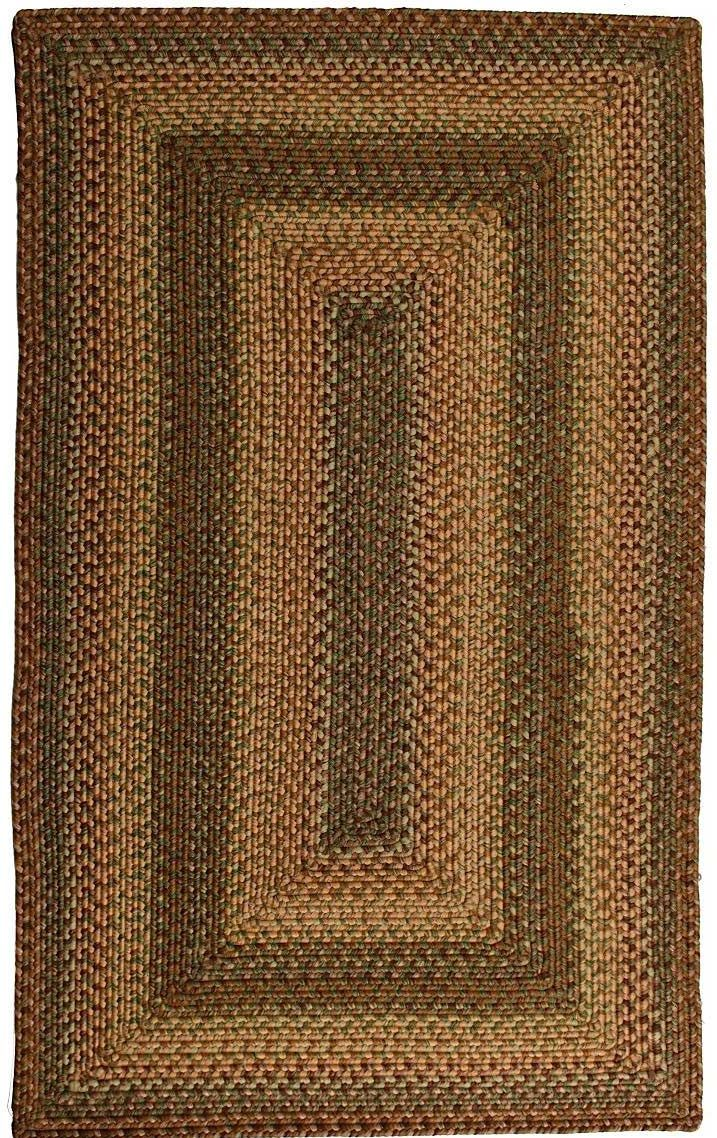 homespice decor savannah braided area rug collection