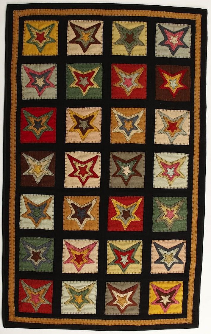 homespice decor star patch sampler contemporary area rug collection