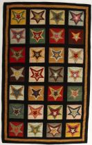 Homespice Decor Contemporary Star Patch Sampler Area Rug Collection
