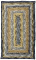 Homespice Decor Braided Sunflowers Area Rug Collection