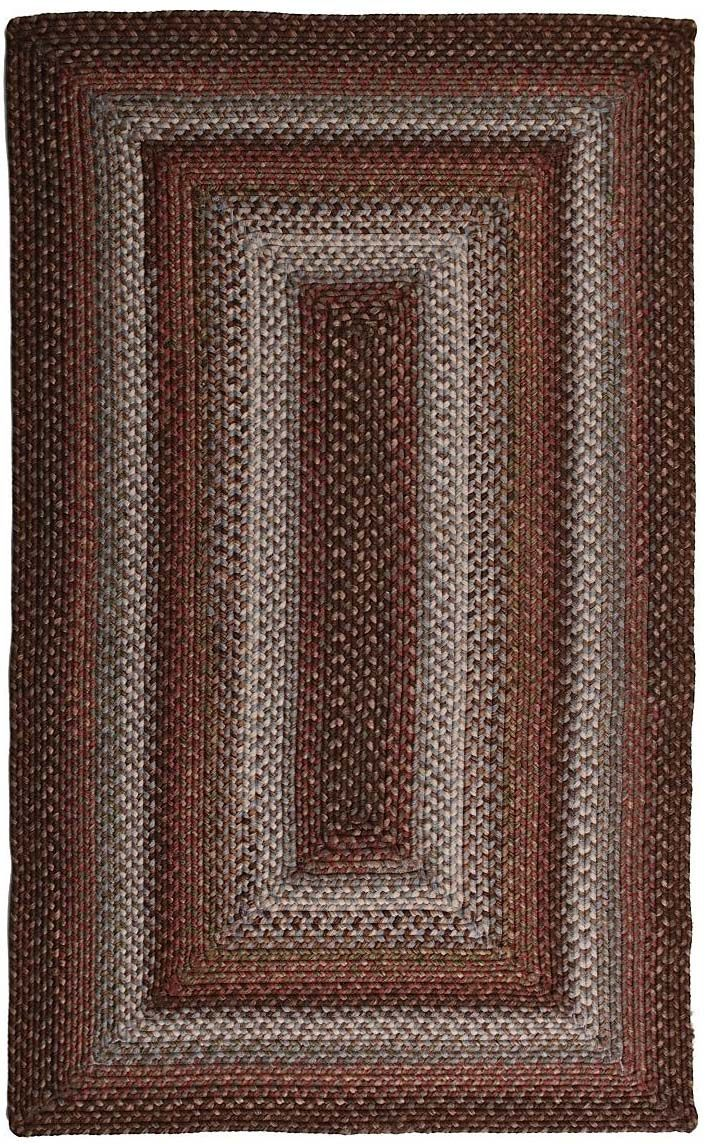 homespice decor tacoma braided area rug collection