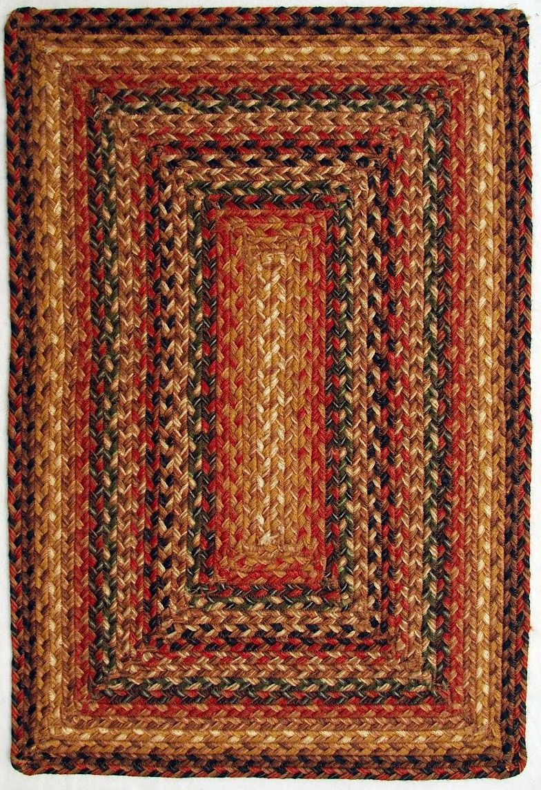 homespice decor timber trail braided area rug collection