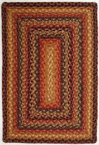 Homespice Decor Braided Timber Trail Area Rug Collection