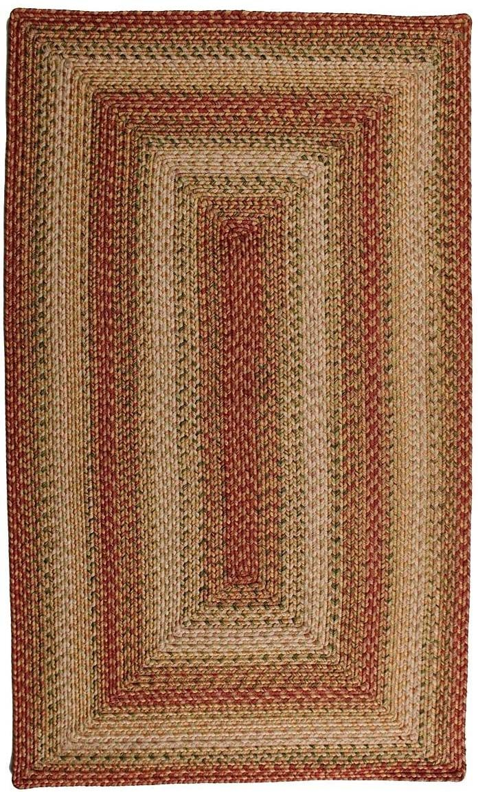 homespice decor tuscany braided area rug collection