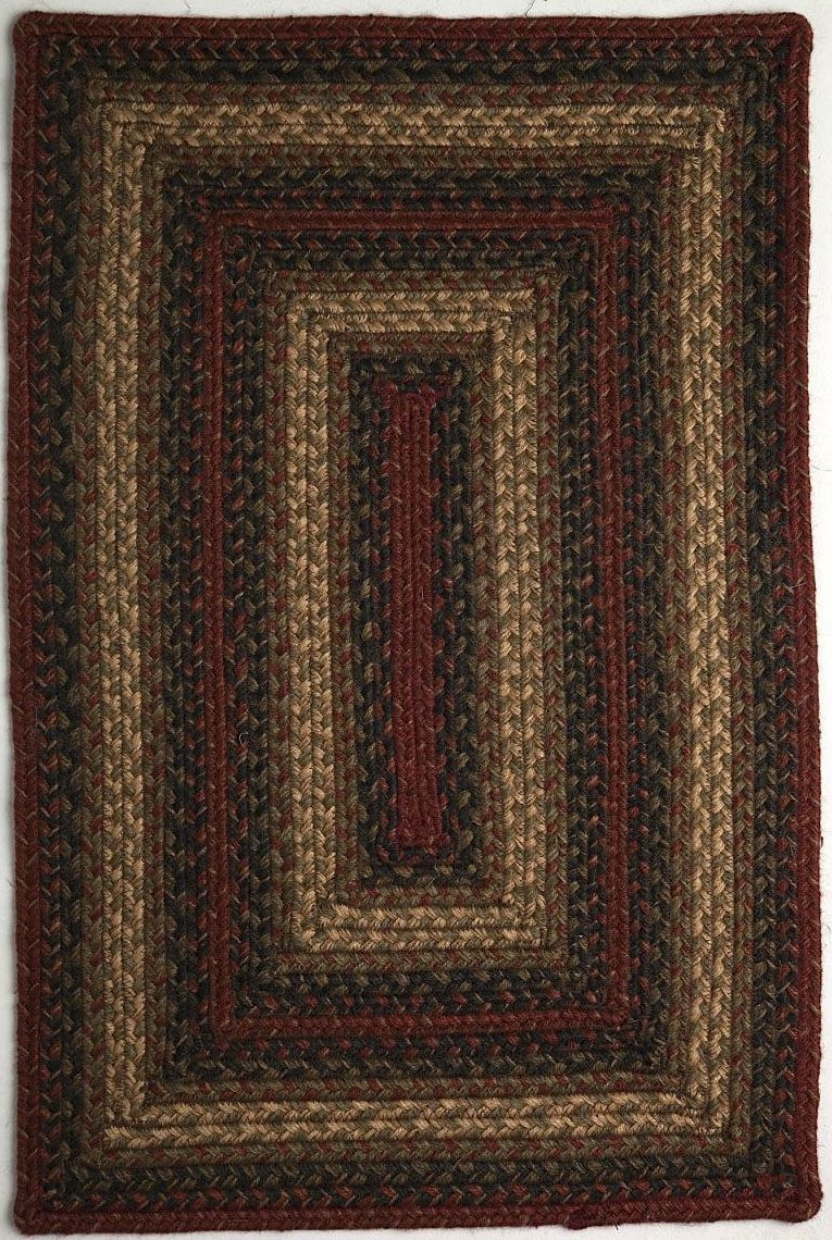homespice decor vancouver braided area rug collection