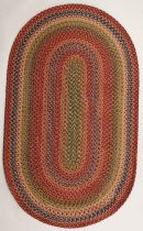 Homespice Decor Braided Venetian Glass Area Rug Collection