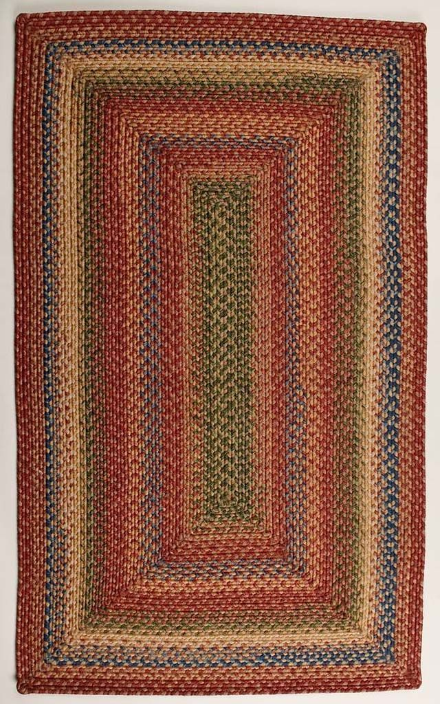 homespice decor venetian glass braided area rug collection
