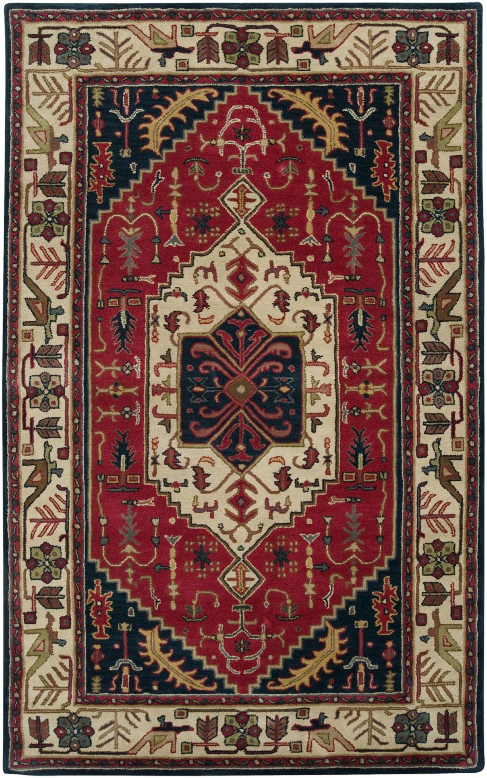 surya ancient treasures southwestern/lodge area rug collection
