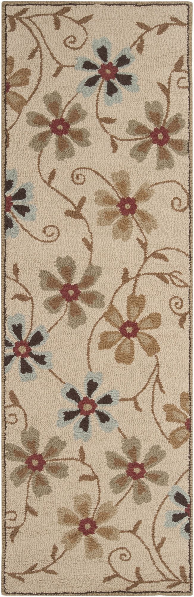 surya centennial country & floral area rug collection