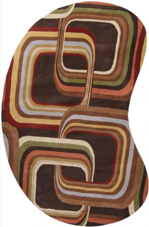 PlushMarket Contemporary Larcbost Area Rug Collection