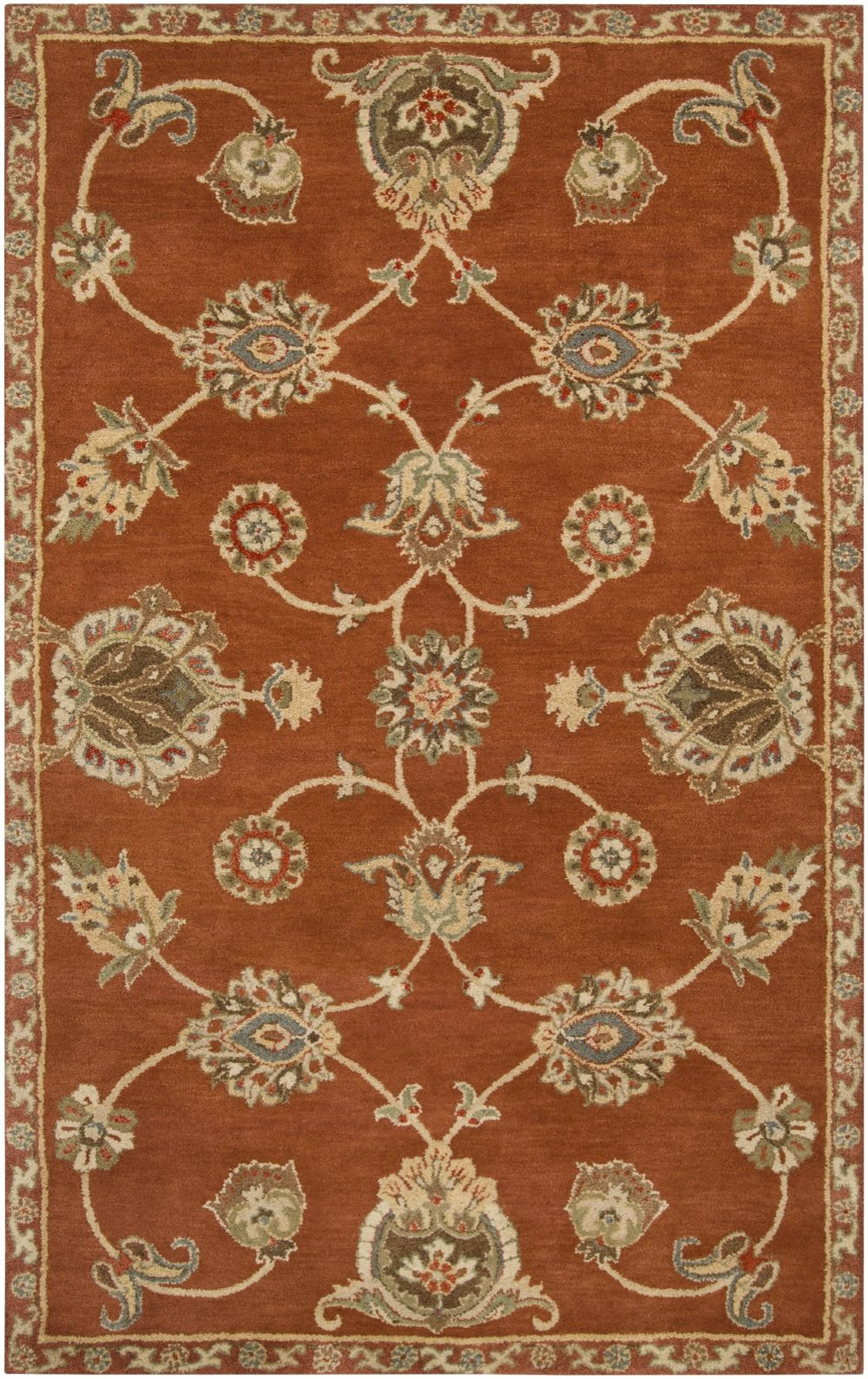 surya langley transitional area rug collection