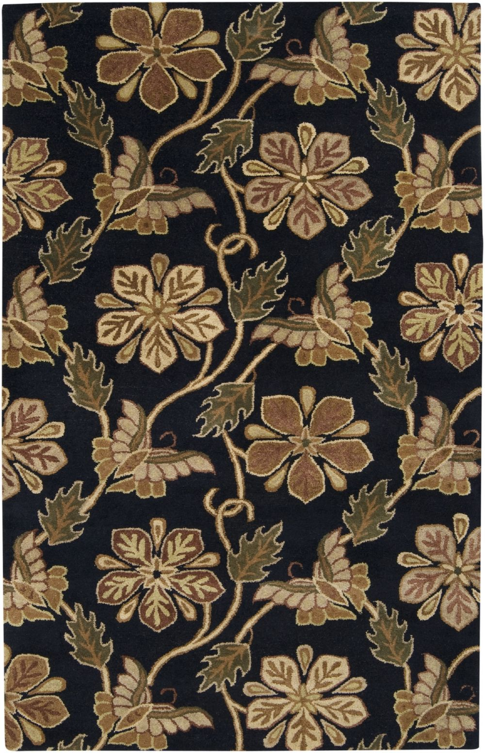 surya sebastian transitional area rug collection