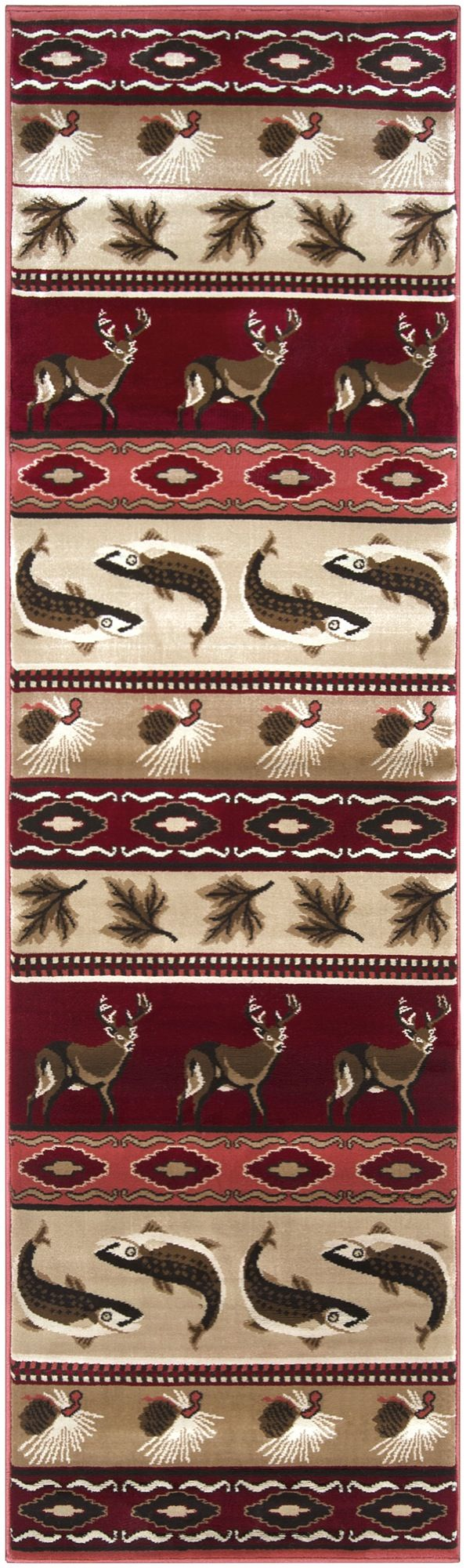 surya big sky southwestern/lodge area rug collection