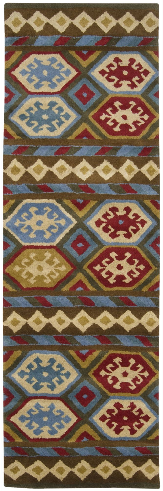 surya santa fe southwestern/lodge area rug collection