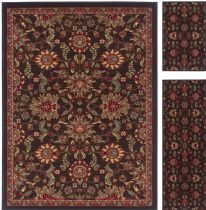 Tayse Traditional Laguna - Set of 3 - 5X7-1.8X5 - 1.8X2.8 Area Rug Collection