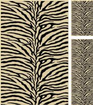 Tayse Animal Inspirations Elegance - Set of 3-5X7 - 1.8X5 - 1.8X2.8 Area Rug Collection