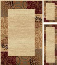 Tayse Transitional Elegance - Set of 3-5X7 - 1.8X5 - 1.8X2.8 Area Rug Collection