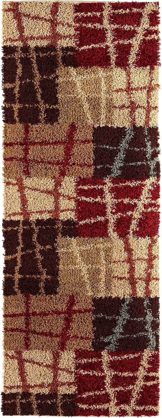 tayse casual shag shag area rug collection