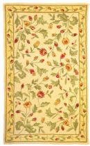 Homefires Contemporary Delicate Blossoms Area Rug Collection