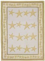 Homefires Contemporary Starfish Toss Area Rug Collection
