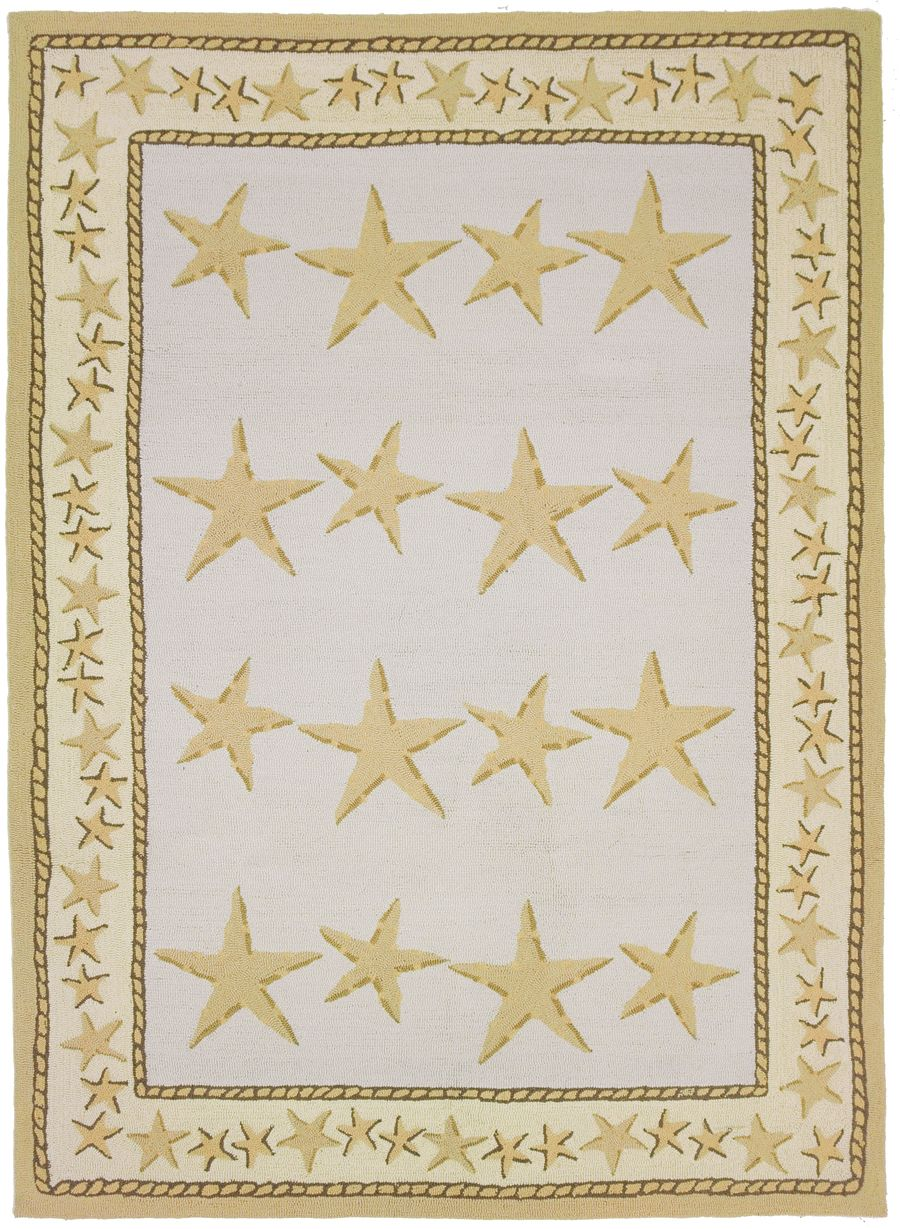 homefires starfish toss contemporary area rug collection