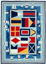 Homefires Contemporary Sailing The Lakes Area Rug Collection