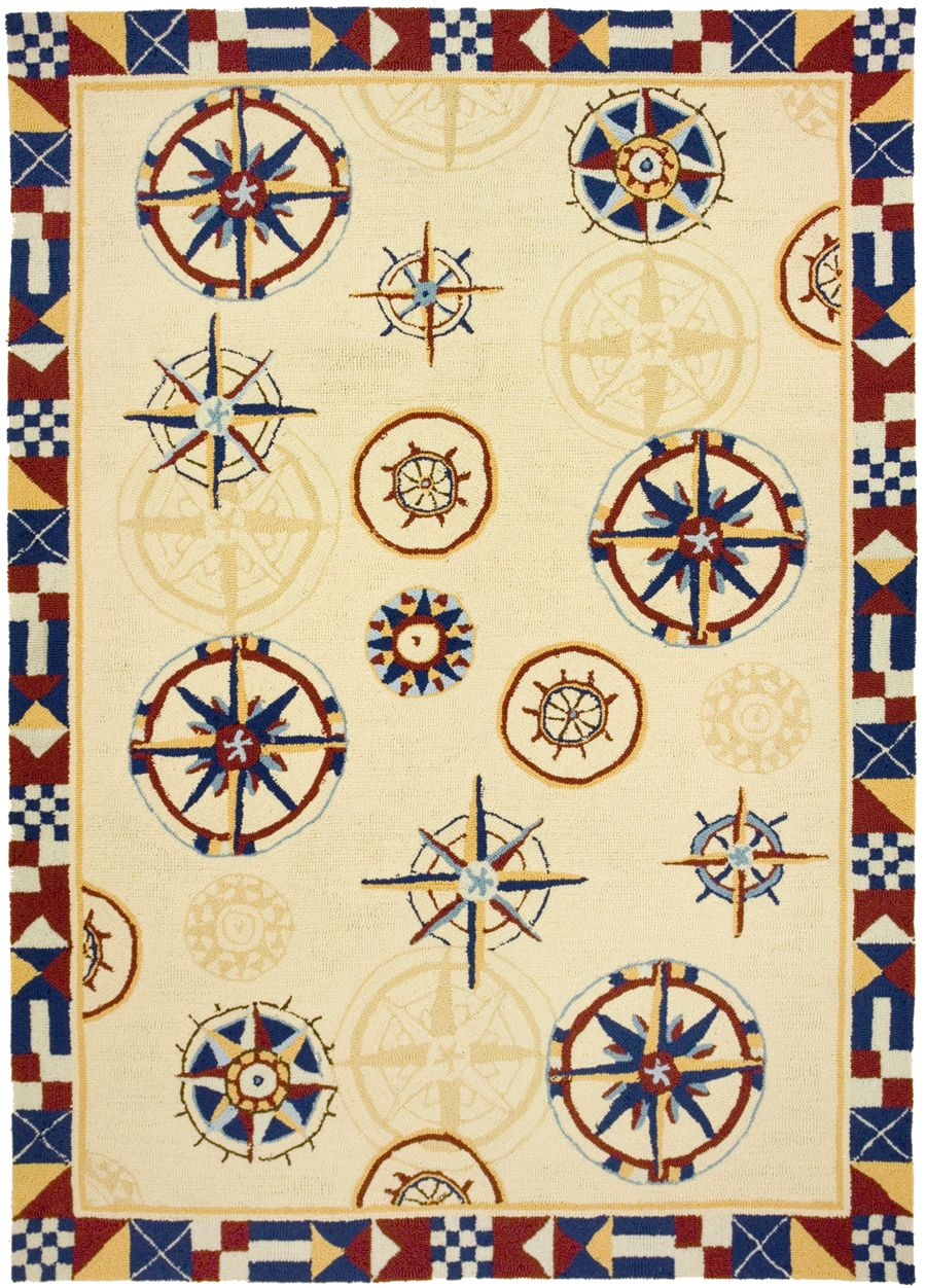 homefires compass contemporary area rug collection
