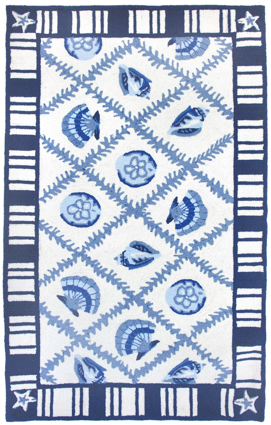 homefires navy blues contemporary area rug collection