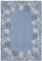 Homefires Contemporary Sea Star Blue Area Rug Collection