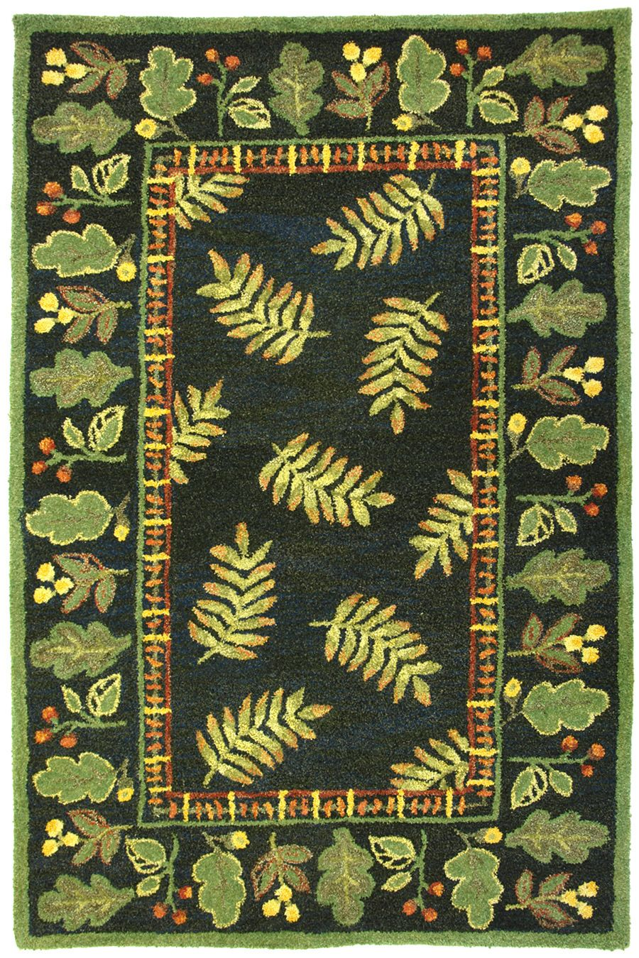 homefires wildwood w-border contemporary area rug collection